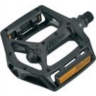 Pedală BIKEFUN JUMP aluminiu negru