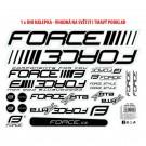 Autocolante cadru MTB logo Force 37x27 cm