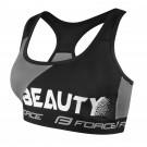 Bustiera sport Force Beauty negru/gri
